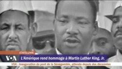 L'Amérique rend hommage à Martin Luther King