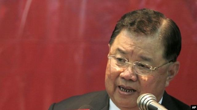Thailand General Yutthasak Sasiprapha (File)