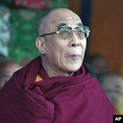西藏流亡精神领袖达赖喇嘛(资料照片)