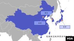 美国副总统拜登出访日中韩