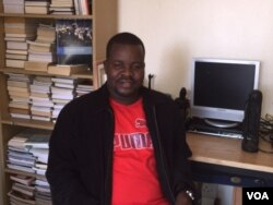 Dewa Mavhinga, senior Africa researcher at Human Rights Watch. (Sebastian Mhofu/VOA)