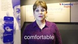 comfortable (adjective)