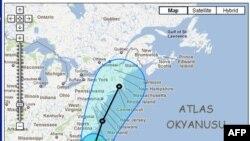 İren qasırğası ABŞ-ın Atlantik okean sahillərini təsirinə məruz qoya bilər