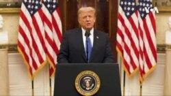 """特朗普向新政府送去""""最好的祝願"""""""