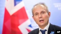 데이비드 리딩턴 영국 하원의장.