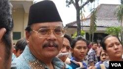 Wakil Jaksa Agung Andhi Nirwanto di Jakarta (30 Mei) menjelaskan pemerintah Papua Nugini siap membantu pemulangan buron perkara Bank Bali Djoko S Tjandra (foto: VOA/Andylala).