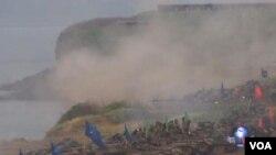 台灣實彈軍演展示反登陸作戰能力