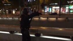 巴黎发生枪击案现场画面