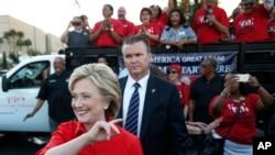 Hilari Klinton, kandidat za demokratsku nominaciju, na mitingu u Las Vegasu u oktobru 2015.