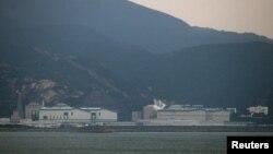 資料照:中國南方城市廣東省惠州市的大亞灣大亞灣核電站