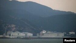 中國的大亞灣核電廠 (資料照片)