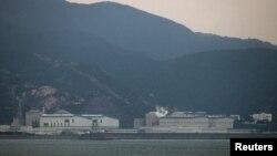 지난해 3월 중국 남부 광둥성 휘저우시 다야만의 핵발전소. (자료사진)