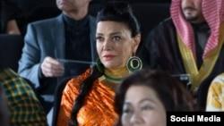 شهره آغداشلو در صحنه ای از سریال