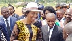 Jeanine Mbunda ayebisi bayi Oicha ete Kinshasa ebosani bango te