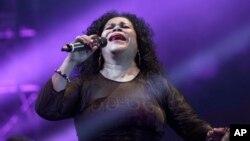 Eva Ayllón a lo largo de su trayectoria de 43 años ha logrado cinco nominaciones a los premios Grammys Latino.