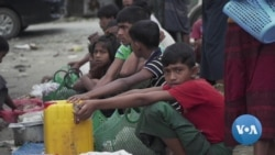 Rohingya End Hard Year Still in Limbo