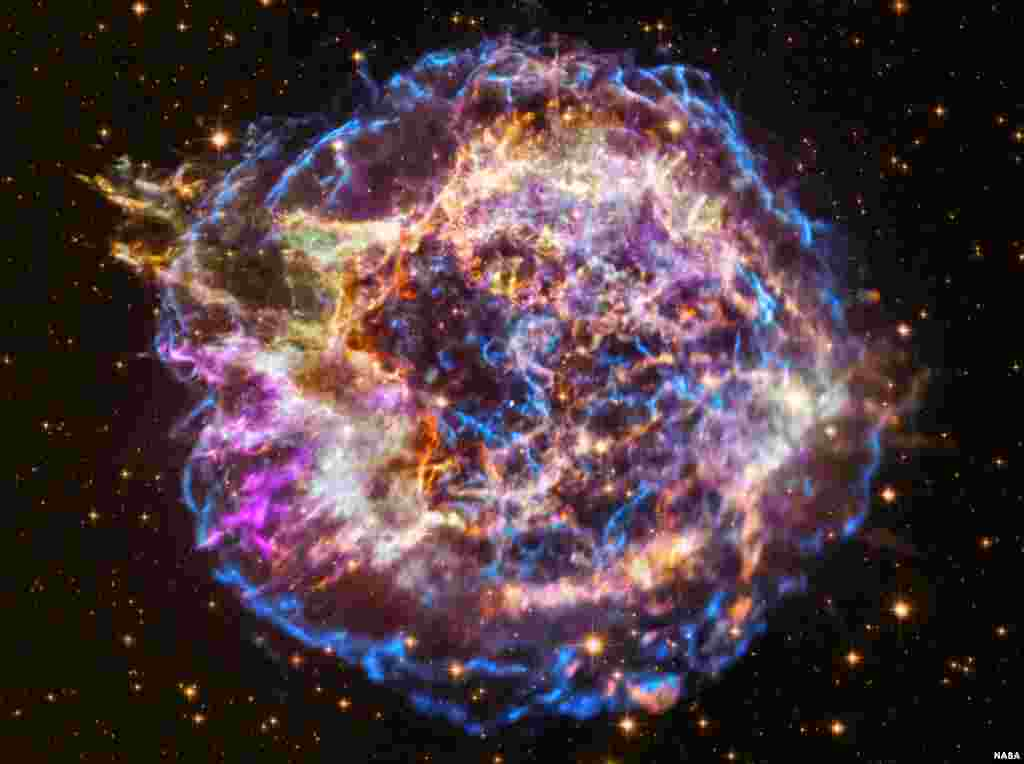 NASA's Chandra X-ray Observatory has captured many spectacular images of cosmic phenomena over its two decades of operations, but perhaps its most iconic is the supernova remnant Cassiopeia A.