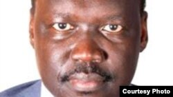 South Sudan diplomat Francis Nazario quit his government position and fled South Sudan.