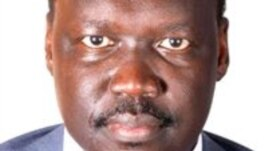 South Sudan diplomat Francis Nazario, who quit his government position and fled South Sudan.