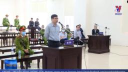 Ông Trương Duy bị xử 10 năm tù hôm 9/3/2020 tại Hà Nội. Photo Truyền hình Thông tấn