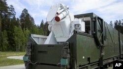 2018年3月1日俄羅斯電視介紹裝上雷射武器的坦克。