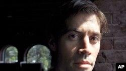 Wartawan AS James Foley dalam sebuah wawancara dengan AP.