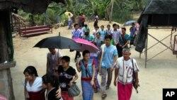 位於泰緬邊界其中一個克倫難民營。