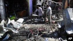 Kobulda terror hujumidan keyingi manzara