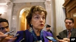 Ketua Komite Intelijen Senat AS, Senator Dianne Feinstein akan mengumumkan laporan soal teknik interogasi CIA (foto: dok).