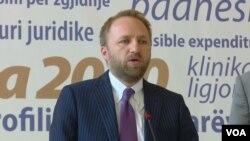 Abelard Tahiri, ministër i Drejtësisë