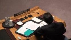 Ucrania trata de frenar resolución propuesta por Rusia
