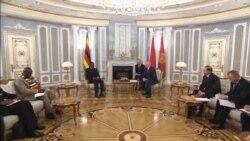 Zimbabwe President Meets with Belarus Counterpart Lukashenko