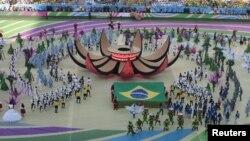 2014年巴西世界杯揭幕儀式。