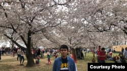 Irwan Saputra, mahasiswa S2 di George Washington University di Washington, D.C. (dok: Irwan Saputra)
