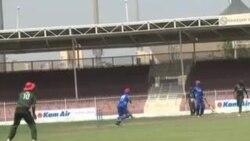 از پیروزی تیم کرکت افغانستان در دبی تجلیل بعمل امد
