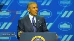 Obama'dan Kadın Zirvesinde Alkışlanan Sözler: 'Feministim'