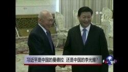 时事大家谈:习近平是中国的曼德拉,还是中国的李光耀?