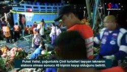 Tayland'da Tekne Kazasında Onlarca Kişi Kayıp