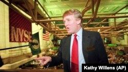 Donald Tramp 1995-ci ildə Nyu-Yorkda