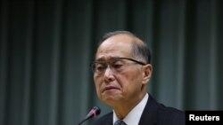 Bộ trưởng Ngoại giao Đài Loan Lin Tai-wei tại Đài Bắc, ngày 21/12/2016.