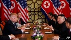 지난 2월 베트남 하노이에서 도널드 트럼프 미국 대통령과 김정은 북한 국무위원장의 2차 정상회담이 열렸다.