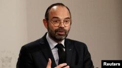 Le premier ministre français Edouard Philippe à Paris le 9 janvier 2019.