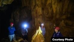 """""""Ljubačevo"""" je važno i zbog helektita – izuzetno rijetkog pećinskog nakita (Foto: CIN)"""