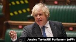 Thủ tướng Anh Boris Johnson.