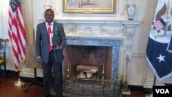Alexandre Neto Solombe, presidente do MISA - Angola (Foto de arquivo)