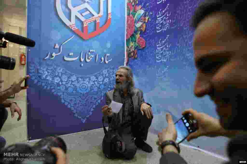 روز نخست ثبت نام کاندیداهای انتخابات ریاست جمهوری عکس: اصغر خمسه