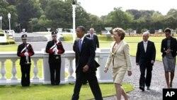 صدر اوباما اور آئرلینڈ کی صدر