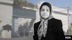 Undated photo of Iranian defense lawyer Nasrin Sotoudeh, who has been detained at Tehran's Evin prison since June 2018. (VOA Persian)