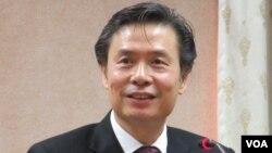 台湾驻美代表金溥聪(资料照片)(美国之音张永泰拍摄)