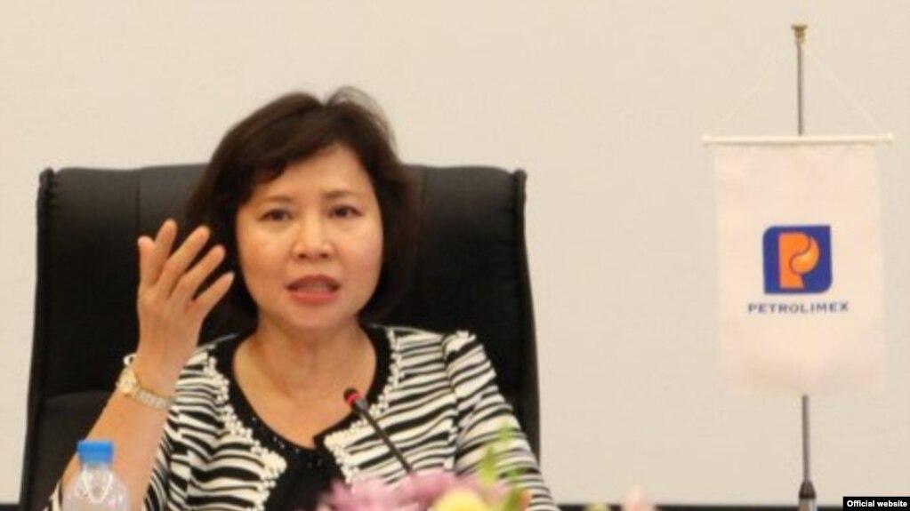 Thứ trưởng Bộ Công Thương Hồ Thị Kim Thoa (Ảnh VietnamNet)